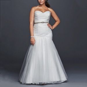 Dresses & Skirts - 🕊Plus/Regular Tulle Mermaid Wedding Gown, 6-20W